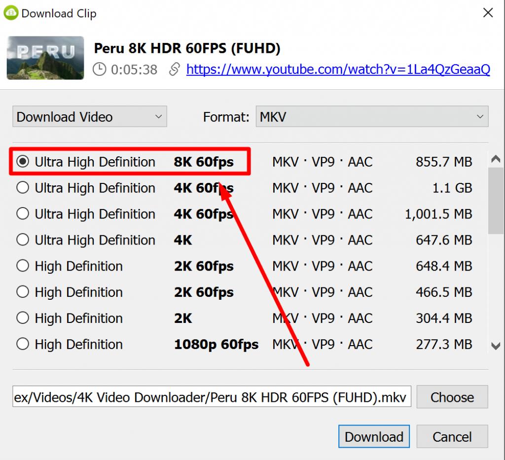 4K VDownloader 8K Video