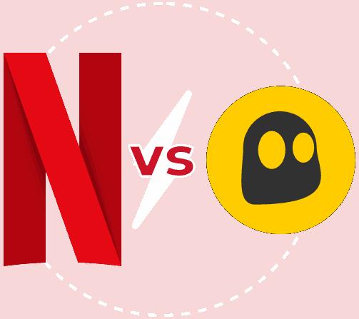 Featured Image transparent Netflix vs Cyberghost