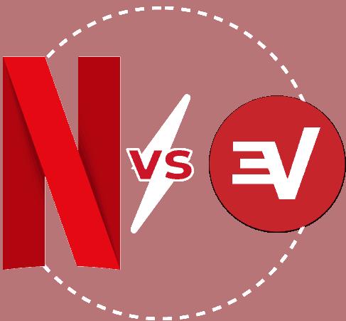 Featured Image transparent Netflix vs Express VPN