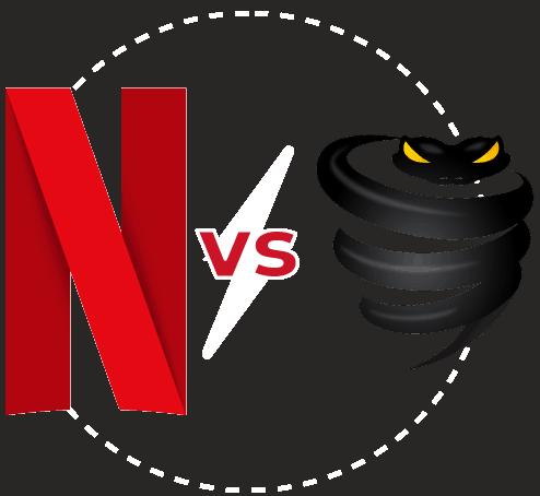 Featured Image transparent Netflix vs Vypr VPN
