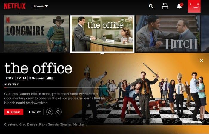 Netflix USA The Office