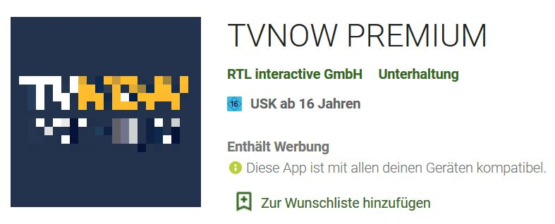 TVNOW App