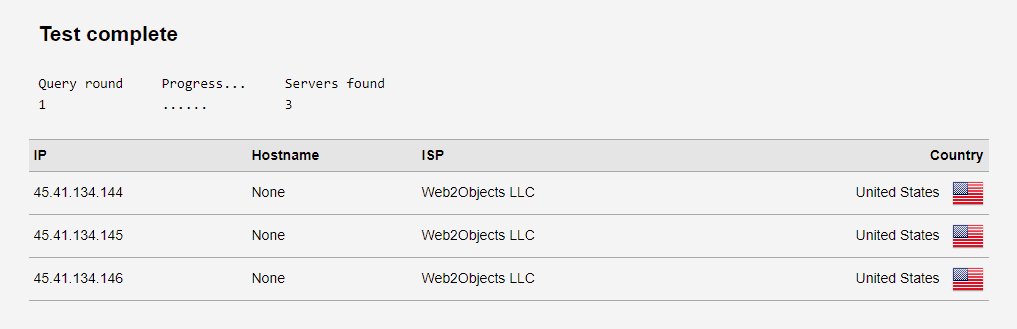 DNS-Test mit VPN