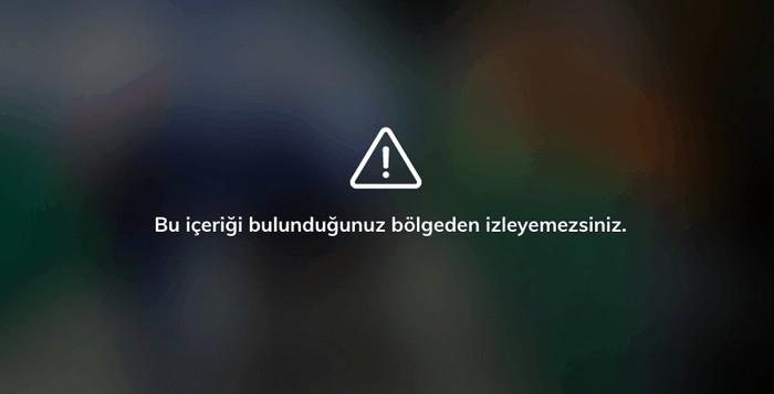 Türkische Sender über Internet Fehlermeldung