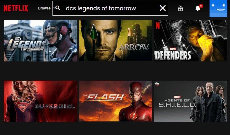 Netflix Legends of Tomorrow mit VPN