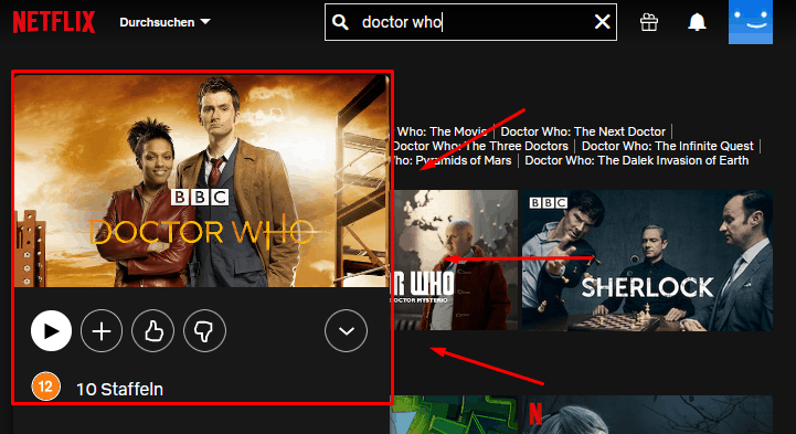 Doctor Who mit VPN