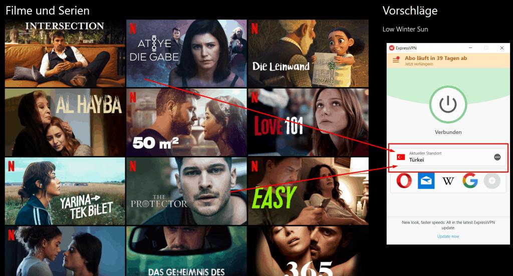 Netflix Türkei VPN