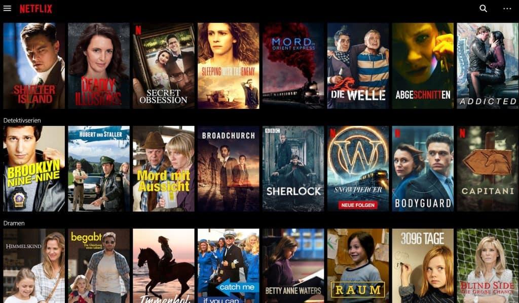 Netflix guenstiger Screenshot
