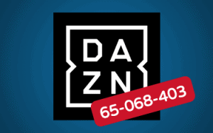 Featured Image DAZN Fehlercode 65-068-403