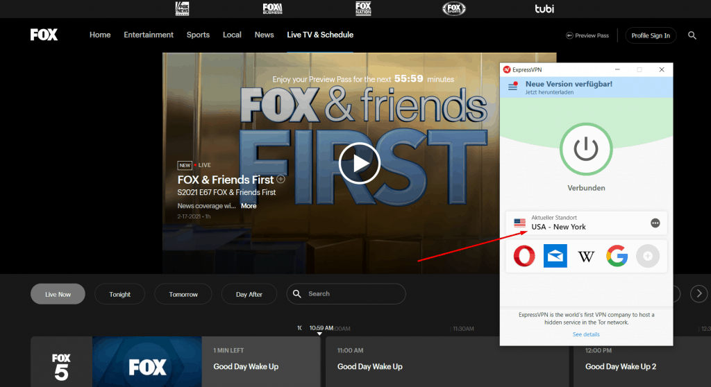 Fox VPN USA