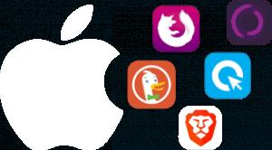 Featured Image transparent Browser Test für iPhone