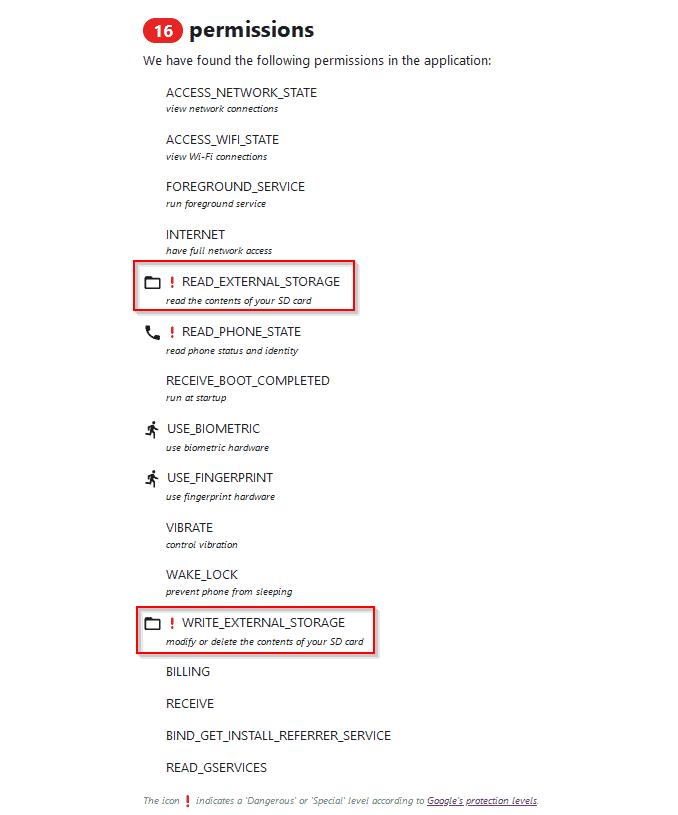 VPNhub Permissions