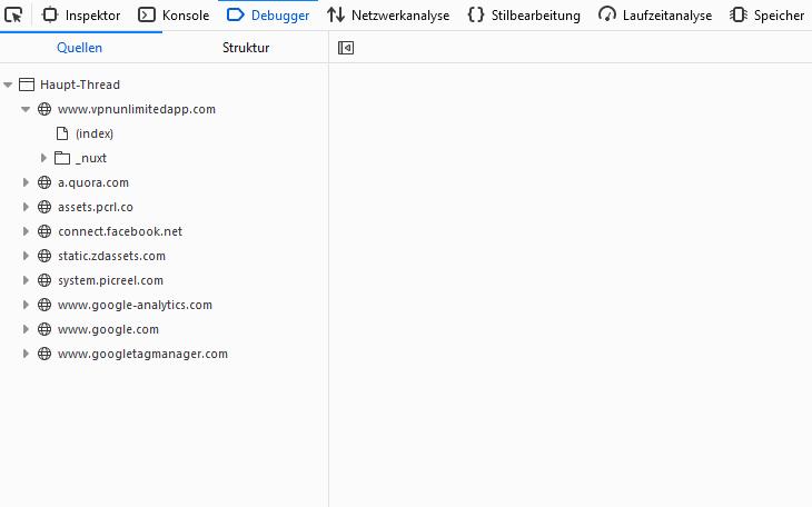 VPNunlimited Webseite