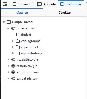 hidestervpn Tracker