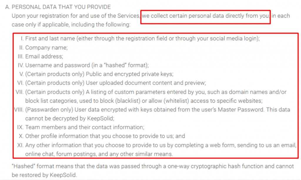vpnunlimited Datenschutzerklärung