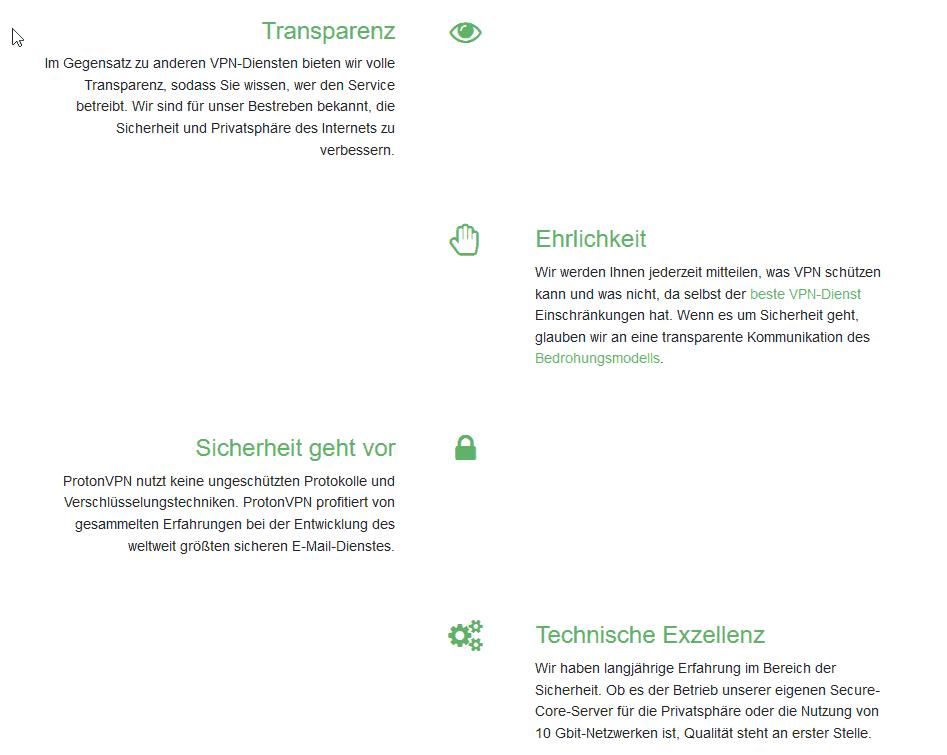protonvpn Unternehmen