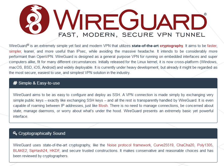 wireguard website